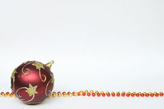 Decorated ball necklace Royalty Free Stock Photo
