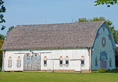 Decorated Barn. A photograph of a highly decorated barn in the German or Pennsylvania Dutch tradition Stock Photography