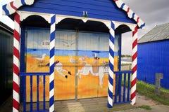 Decorated beach hut. Stock Image