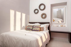 Decorated bedroom interior Stock Photography