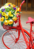 Decorated bicycle Stock Photography