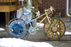 Decorated bike Royalty Free Stock Images