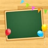Decorated Blank Board Stock Image