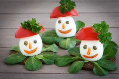 Decorated boiled Eggs Royalty Free Stock Photography