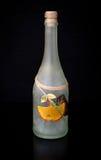 Decorated bottle Stock Image