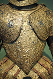 Decorated Breast Armour Royalty Free Stock Photo