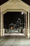 Decorated bridge royalty free stock images