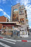 Decorated building in Jerusalem Stock Photography