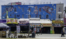 Decorated building in Venice, California Royalty Free Stock Images