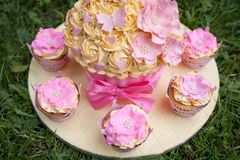 Decorated Cake Stock Images