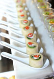 Decorated catering Stock Images