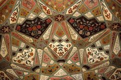 Decorated Ceiling. In Red Fort Delhi royalty free stock photos