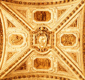 Decorated ceiling Royalty Free Stock Images