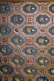Decorated ceiling in Ducal Palace Museum in Mantua Royalty Free Stock Photos