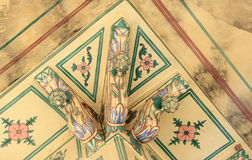 Decorated Ceiling in Nahargarh Fort . Stock Photos