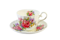 Decorated china cup Royalty Free Stock Image