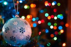 Decorated Chrismas Tree,Pine, New year stock photo