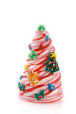 Decorated christmas candy tree Royalty Free Stock Photography