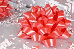 Decorated Christmas Gifts Stock Photos