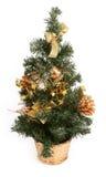 Decorated Christmas tree Stock Photos