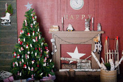 Free Decorated Christmas Tree Royalty Free Stock Image - 47177126