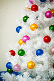 Decorated Christmas tree Royalty Free Stock Photos