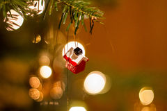 Decorated christmas tree Stock Photos