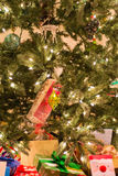 Decorated Christmas tree with presents Royalty Free Stock Photo