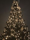 Christmas Sliver Tree 2 Royalty Free Stock Images