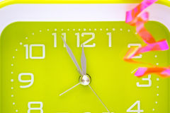 Decorated clock Stock Image