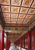Decorated Columned Hall Royalty Free Stock Images