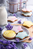 Decorated cookes Royalty Free Stock Images