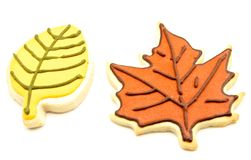 Decorated cookies Stock Photography