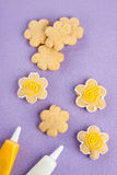 Decorated cookies Royalty Free Stock Image