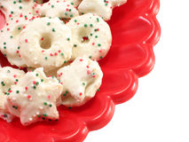 Decorated Cookies Royalty Free Stock Images