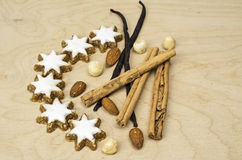 Decorated cookies for christmas Stock Photography
