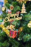 Decorated cristmas tree Royalty Free Stock Image