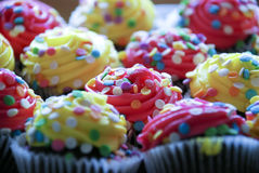 Decorated cupcakes Royalty Free Stock Image