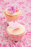 Decorated cupcakes Royalty Free Stock Images