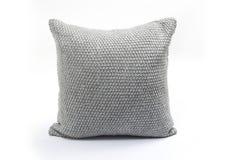 Decorated cushion. On white background royalty free stock image