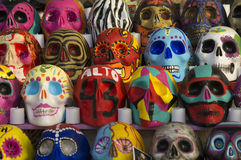 Decorated Day of the Dead Skulls Royalty Free Stock Photos