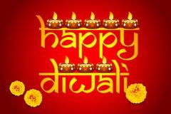 Decorated Diya Stock Photos