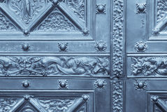 Decorated door Stock Images