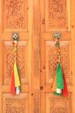 Decorated Door. Stock Images