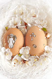 Decorated easter stock images