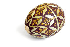 Decorated easter  egg Stock Photos