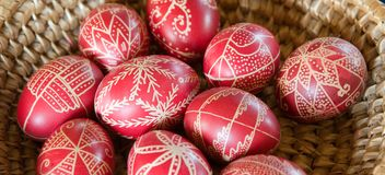 Decorated Easter Egg Royalty Free Stock Photography