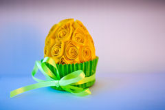Decorated easter egg Stock Images