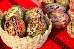 Decorated easter eggs. Stock Image