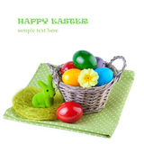 Decorated Easter Eggs Stock Images